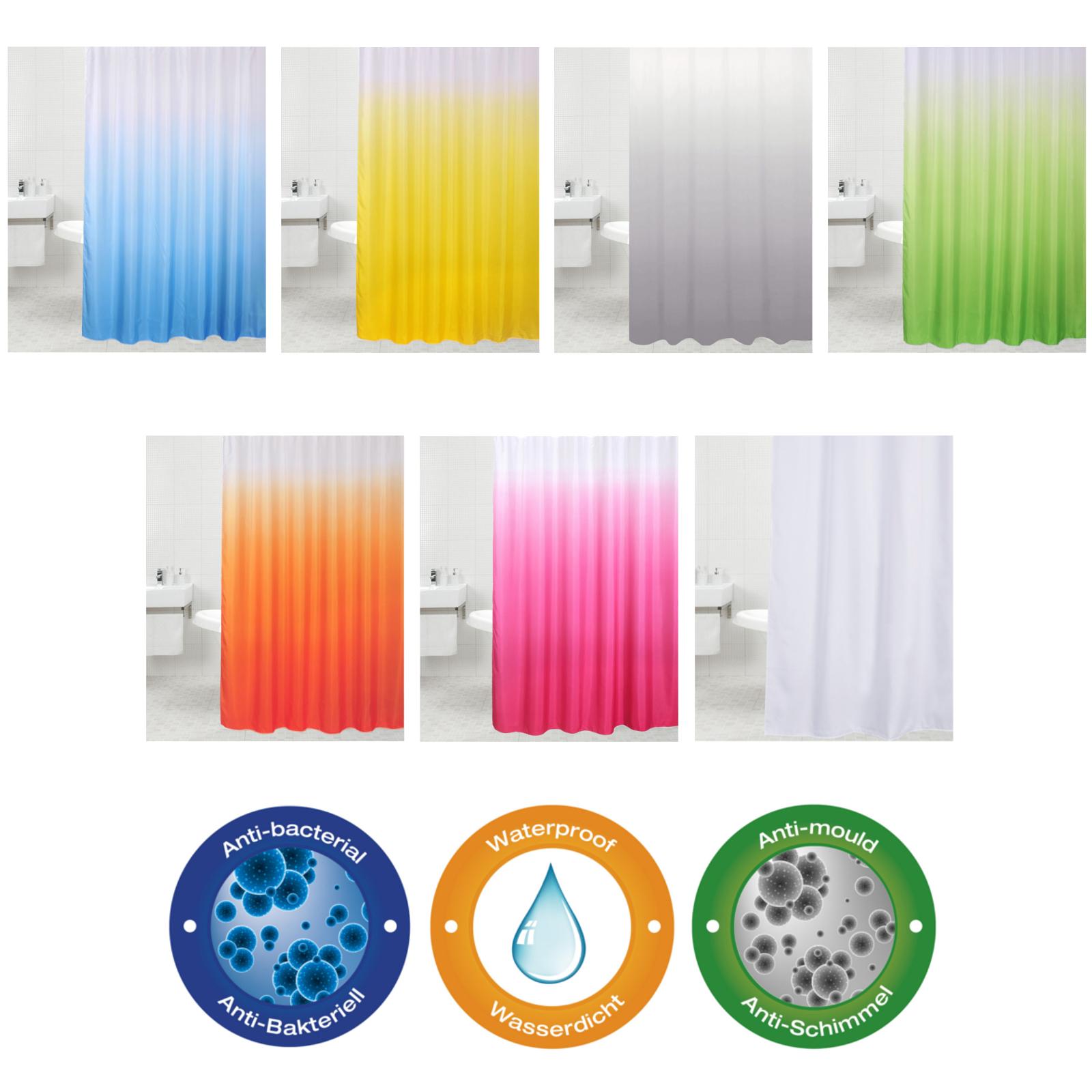 duschvorhang textil duschvorhang textil anika duschvorhang textil five stripes in drei farben. Black Bedroom Furniture Sets. Home Design Ideas