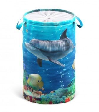 Wäschekorb Delphin