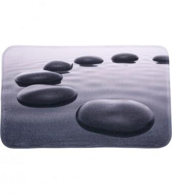Badteppich Black Stones 50 x 80 cm