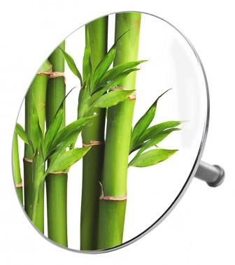 Badestöpsel Bambus Grün
