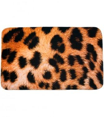 Badteppich Leopardenfell 50 x 80 cm