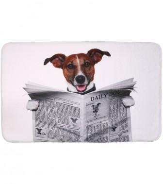 Badteppich Newspaper 50 x 80 cm