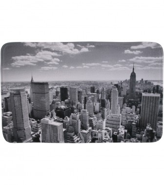 Badteppich Skyline New York 50 x 80 cm