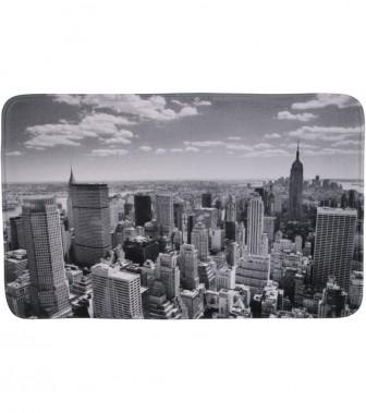 Badteppich Skyline New York 70 x 110 cm