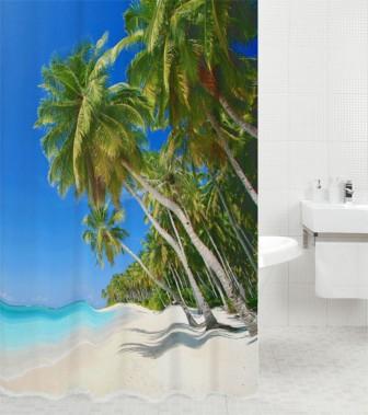 Duschvorhang Karibik 180 x 200 cm
