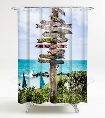 Duschvorhang Key West 180 x 200 cm
