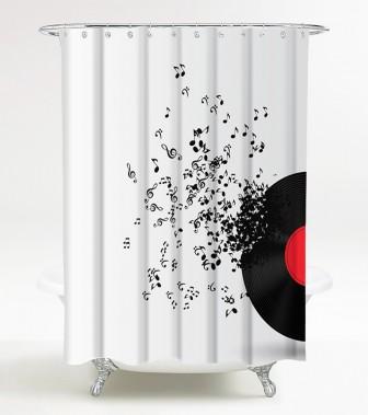 Duschvorhang Play Music 180 x 200 cm