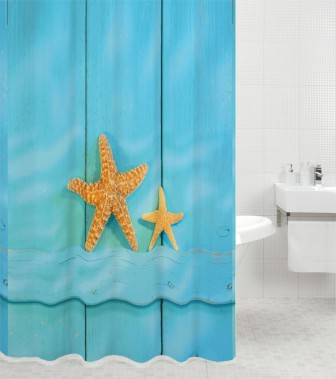 Duschvorhang Starfish 180 x 200 cm