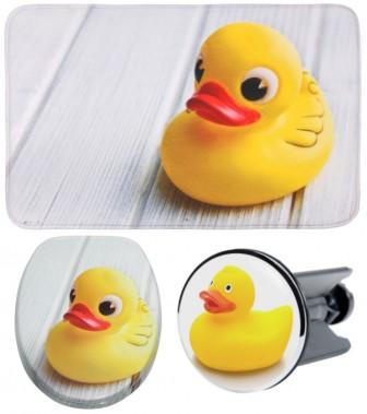 3-teiliges Badezimmer Set Ente