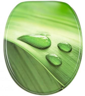 WC-Sitz mit Absenkautomatik Green Leaf