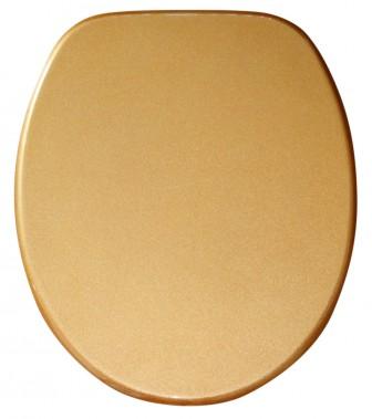 WC-Sitz mit Absenkautomatik Glitzer Gold