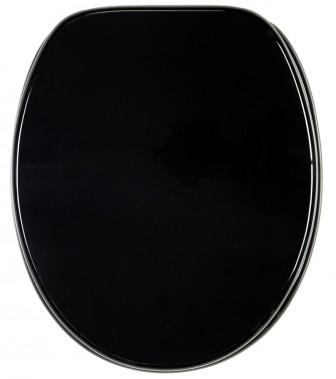 WC-Sitz Schwarz
