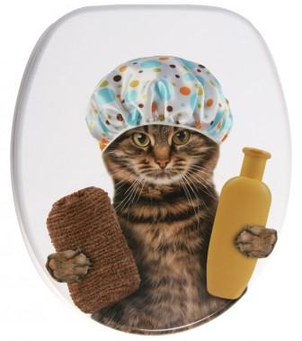 WC-Sitz mit Absenkautomatik Shower Cat