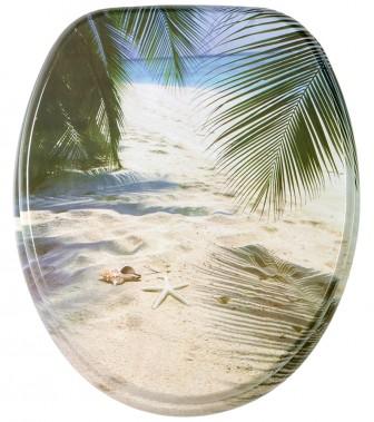 WC-Sitz mit Absenkautomatik Beach