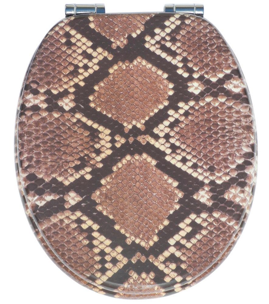 klobrille toilettensitz toilettenbrille wc brille klositz braun schlange snake ebay. Black Bedroom Furniture Sets. Home Design Ideas