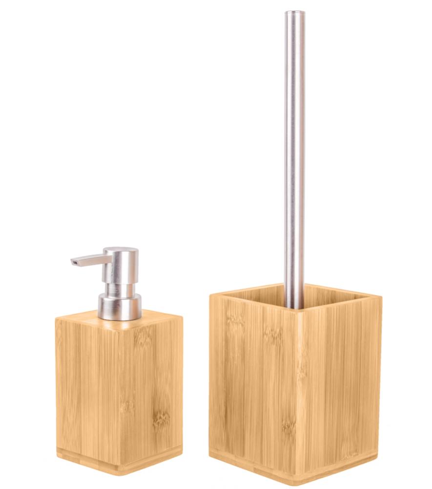 Badezimmer Set Bambus | WCShop24.de