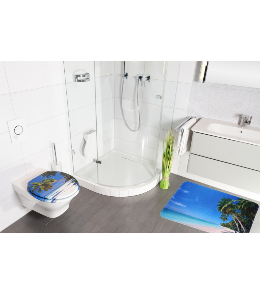 badteppich karibik 70 x 120 cm. Black Bedroom Furniture Sets. Home Design Ideas