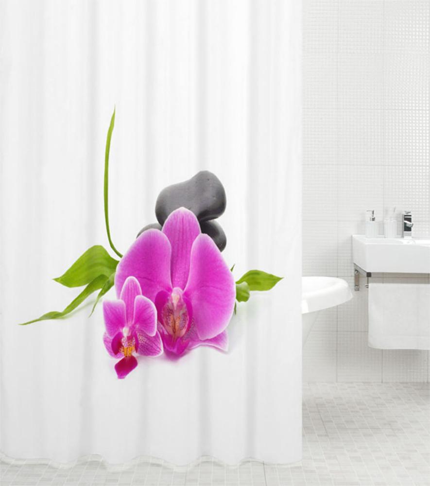duschvorhang wellness. Black Bedroom Furniture Sets. Home Design Ideas