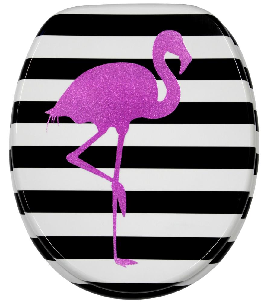 wc sitz mit absenkautomatik flamingo. Black Bedroom Furniture Sets. Home Design Ideas