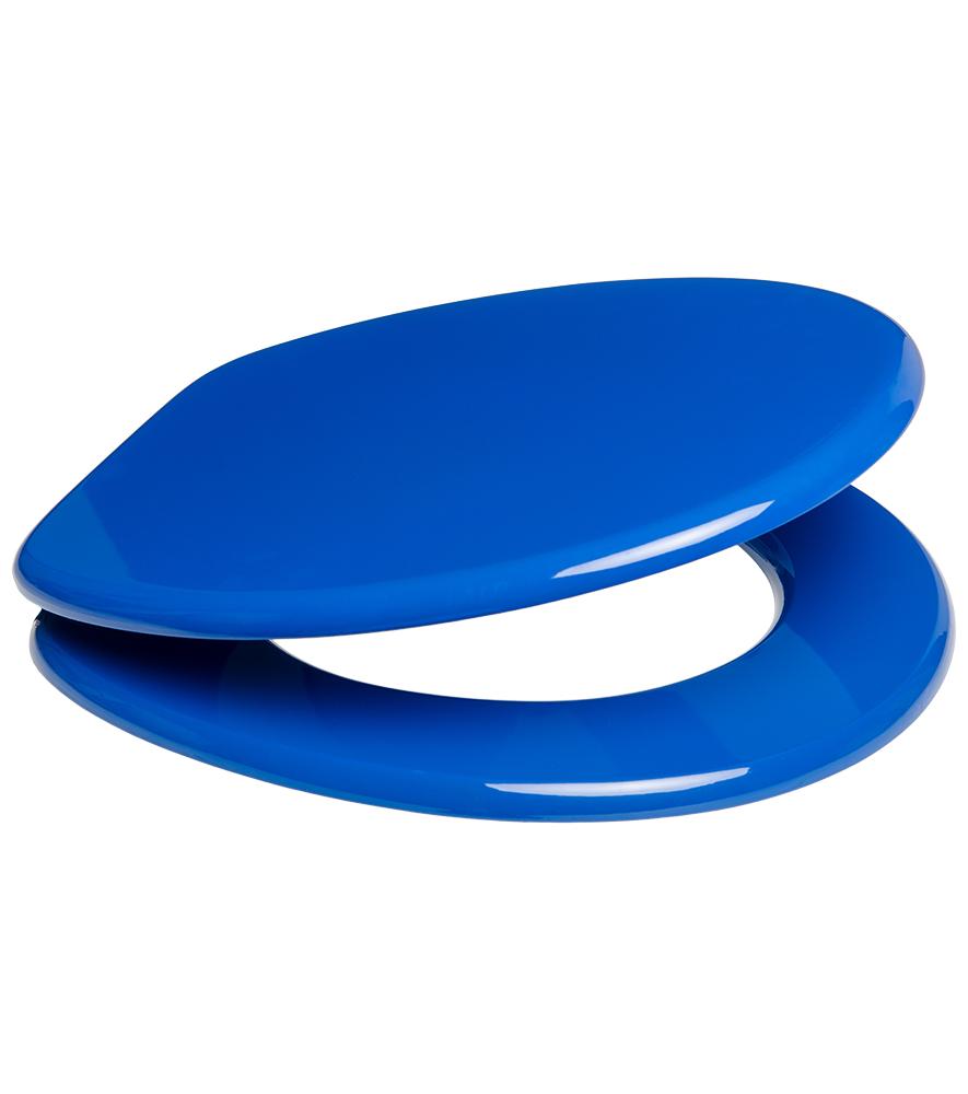 wc sitz mit absenkautomatik blau. Black Bedroom Furniture Sets. Home Design Ideas