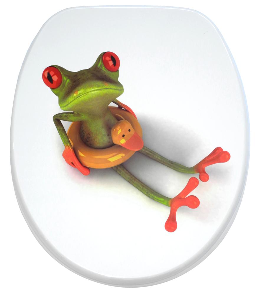 wc sitz mit absenkautomatik froggy. Black Bedroom Furniture Sets. Home Design Ideas