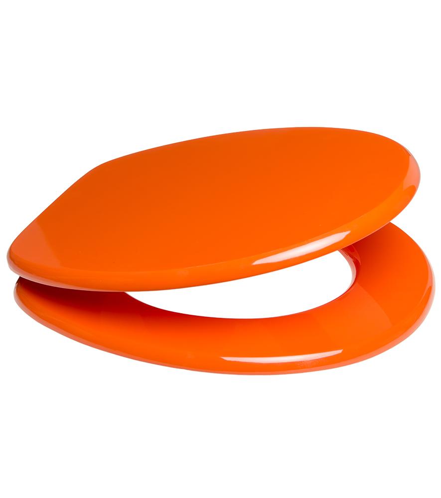wc sitz orange. Black Bedroom Furniture Sets. Home Design Ideas