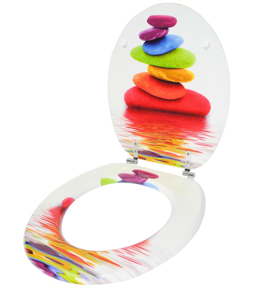 klobrille toilettensitz toilettenbrille wc brille klositz clodeckel allegria ebay. Black Bedroom Furniture Sets. Home Design Ideas