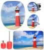 6-teiliges Badezimmer Set Leuchtturm