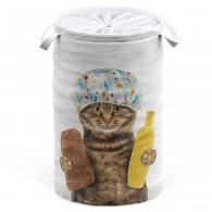 Wäschekorb Shower Cat