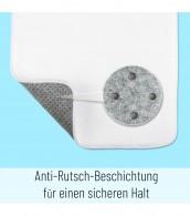 Badteppich Tautropfen Blau 70 x 110 cm