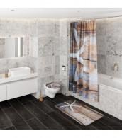 3-teiliges Badezimmer Set Bahia