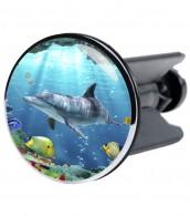 Stöpsel Delphin Korallen