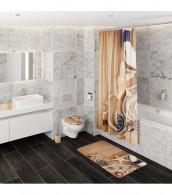 6-teiliges Badezimmer Set Maritime