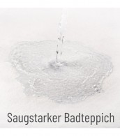 Badteppich Flieder 70 x 110 cm