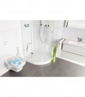 WC-Sitz mit Absenkautomatik Wasserblasen