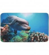 Badteppich Delphin 50 x 80 cm