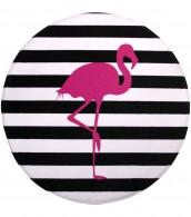 Badteppich rund Flamingo Ø 80 cm