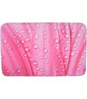 Badteppich Pink Flower 70 x 110 cm