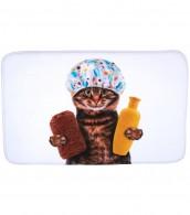 Badteppich Shower Cat 50 x 80 cm