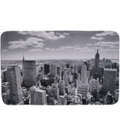 Badteppich Skyline New York 70 x 120 cm