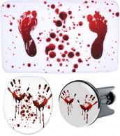 3-teiliges Badezimmer Set Blood