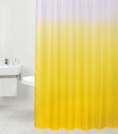 Duschvorhang Magic Gelb 180 x 200 cm