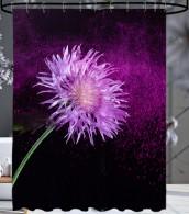 Duschvorhang Purple Dust 180 x 200 cm