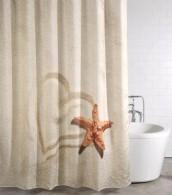 Duschvorhang Sandy 180 x 200 cm