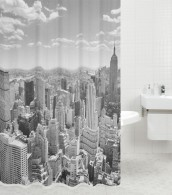 Duschvorhang Skyline New York 180 x 200 cm