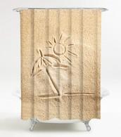 Duschvorhang Sunshine 180 x 180 cm