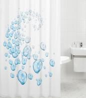 Duschvorhang Wasserblasen 180 x 180 cm