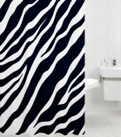 Duschvorhang Zebra 180 x 200 cm