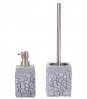 Badezimmer Set Grey Stone