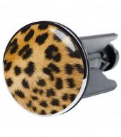 Stöpsel Leopardenfell
